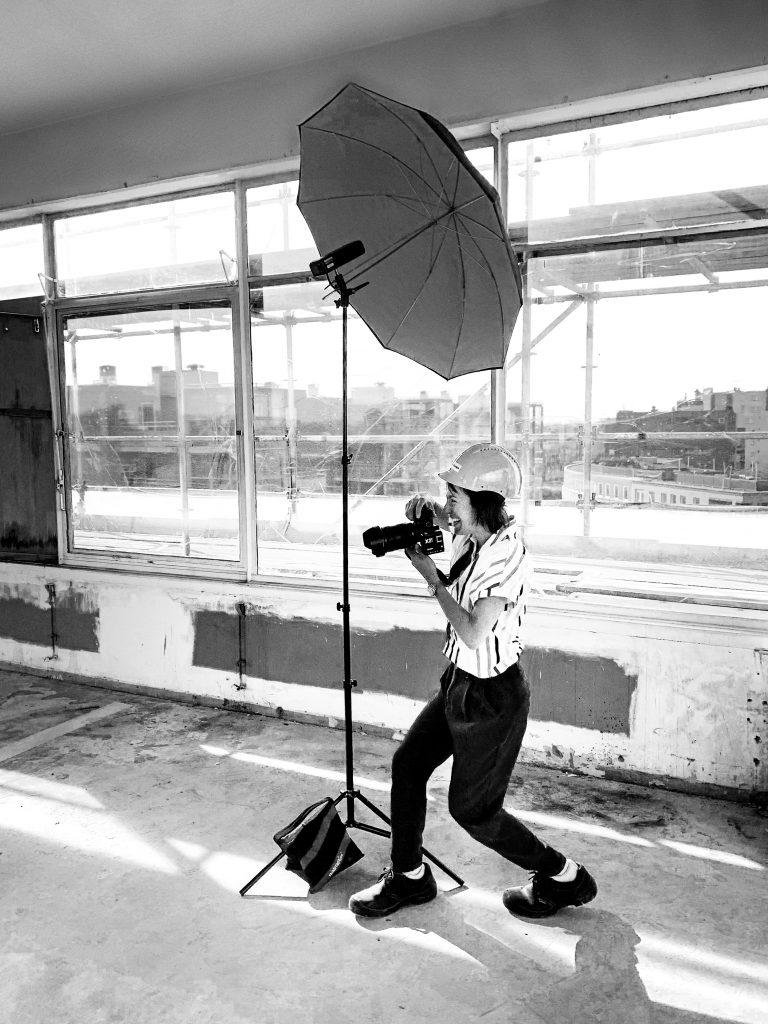 Achter de schermen sfeerbeeld van fotograaf Joke Schut.