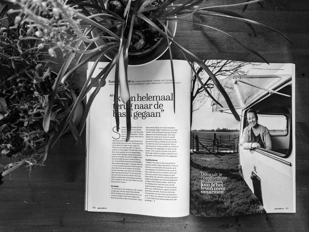 Publicatie in het Gezond Nu magazine