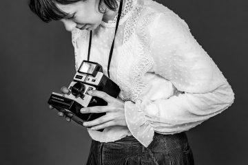 Portret van fotograaf Joke Schut