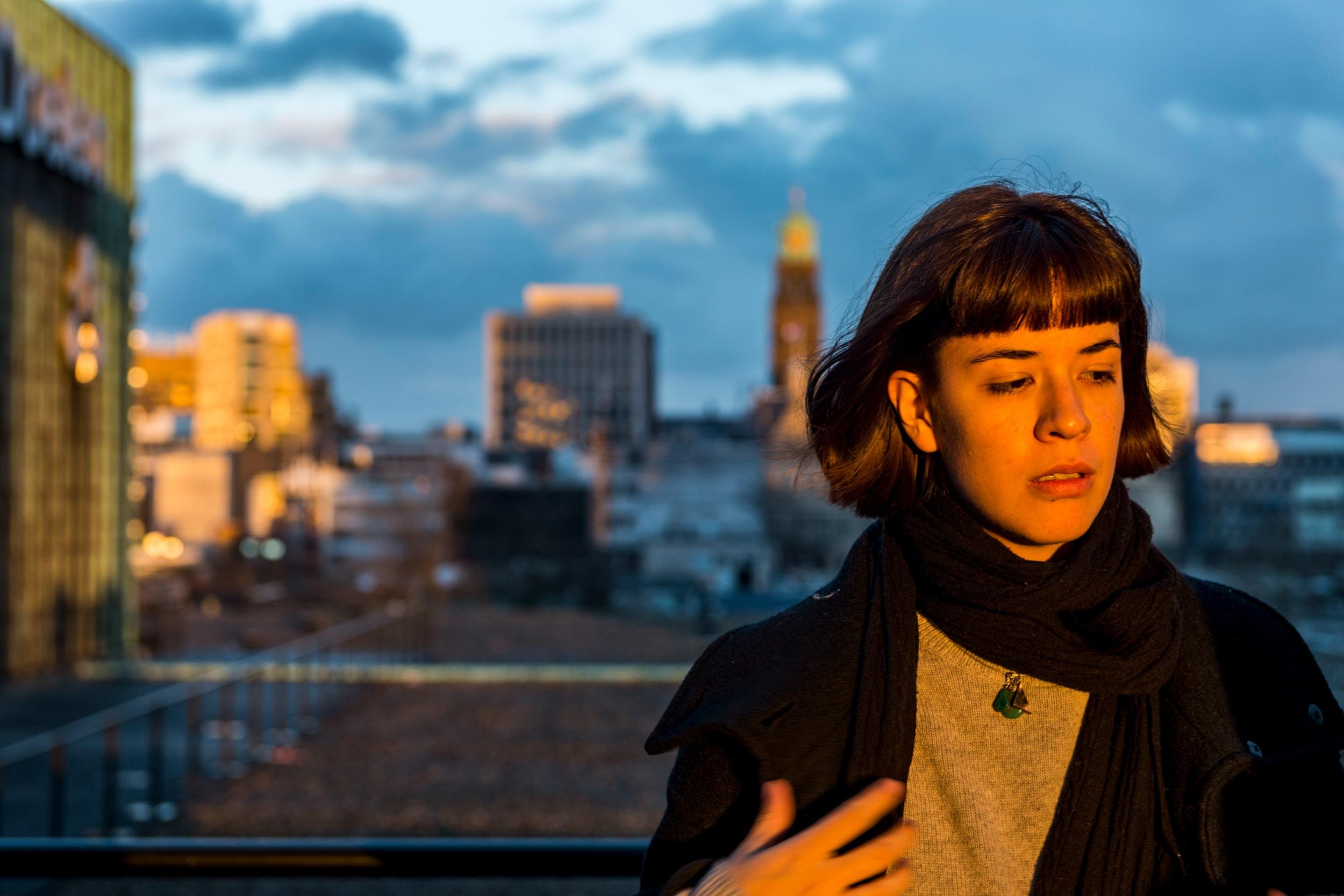 Portret van Melissa Liebenthal regisseur van de film Las Lindas.