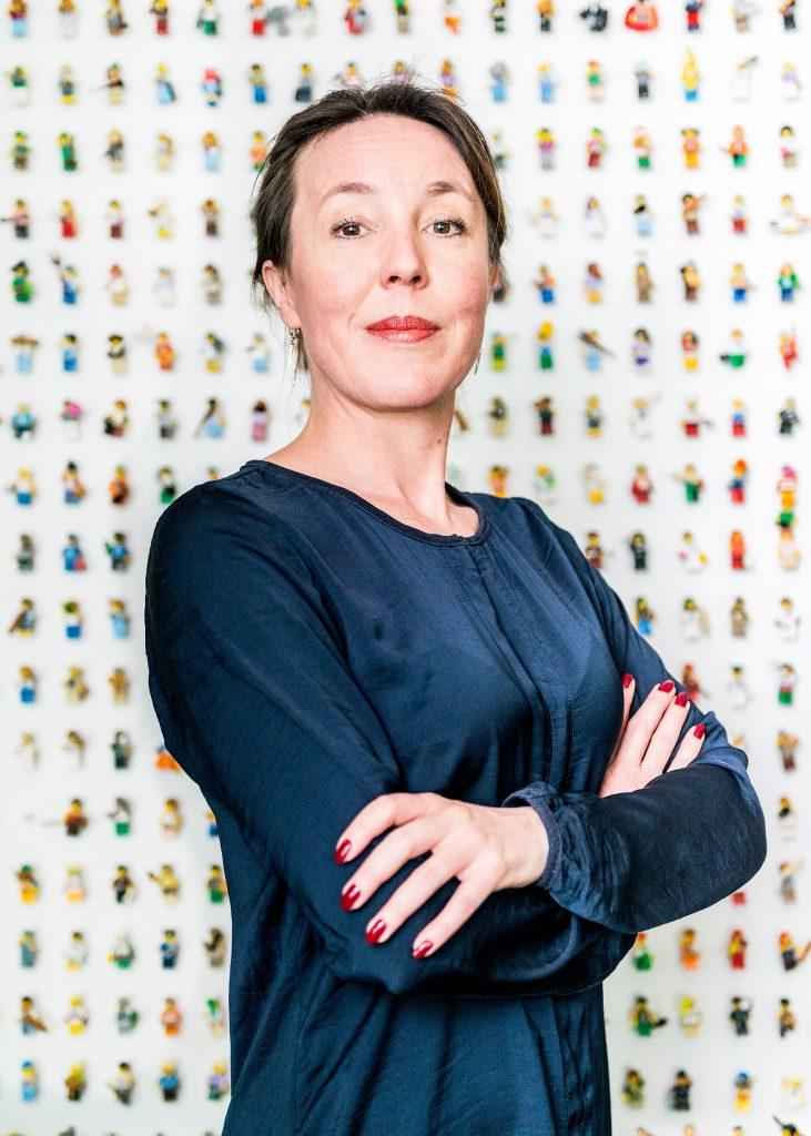 Zakelijk portret Inge Ernst directeur HR bij Novonordisk