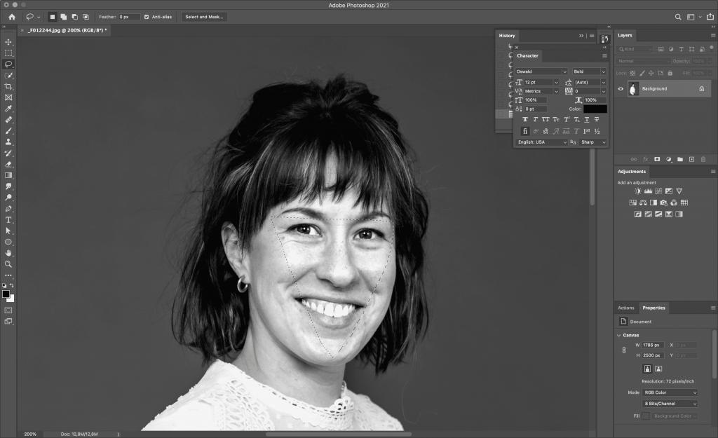 Truuk die ik bij elk portret toepas in photoshop.