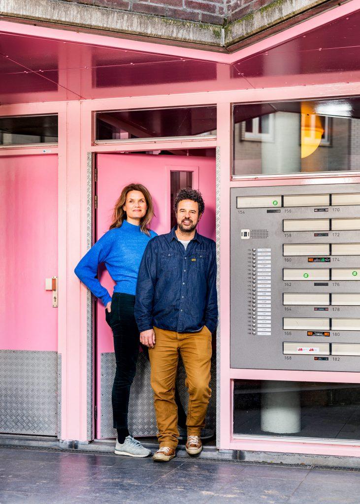 Amsterdammers thuis in quarantaine door het Coronavirus