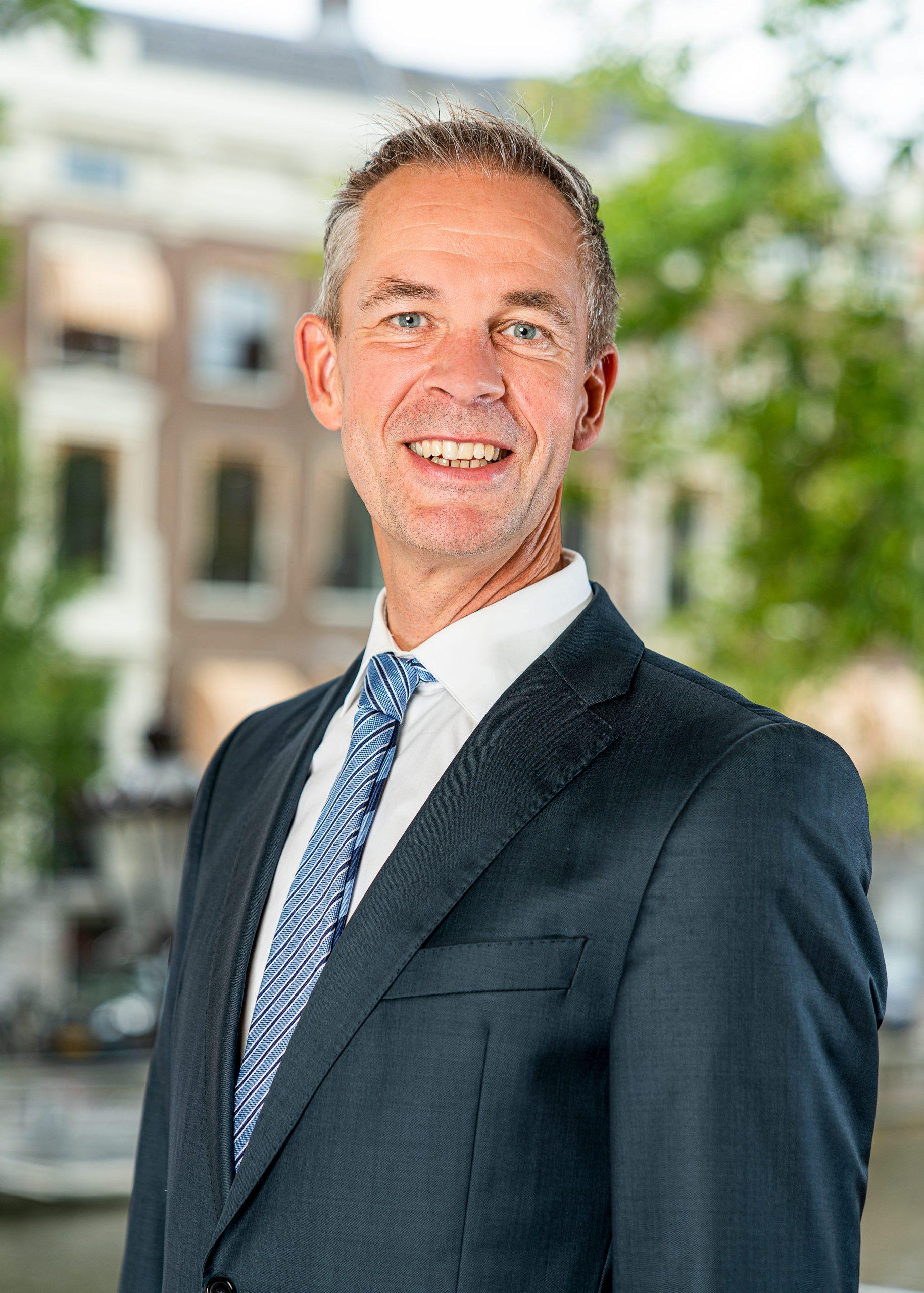 Zakelijk portret Remco de Louwer. Directeur bij Sheldon Invest.