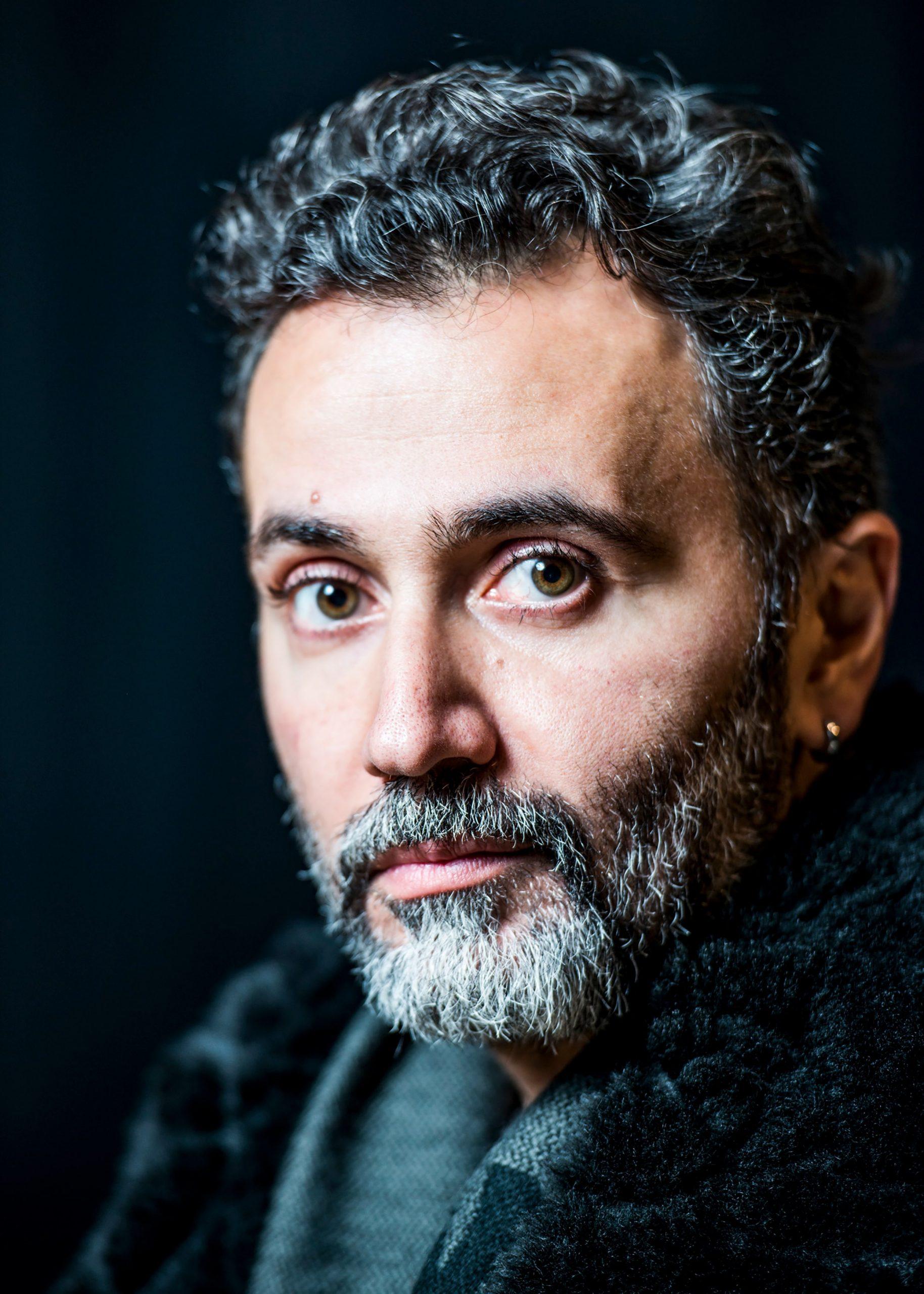 Portrait of director Talal Derki