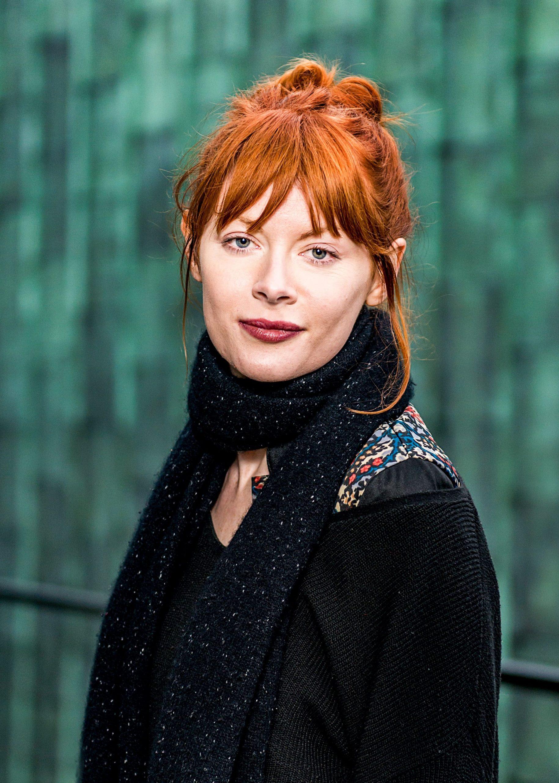 Portret van actrice Emilie Beecham